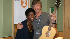 Josephine in session for Richard Madeley
