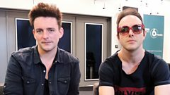 Glasvegas speak to Mark Radcliffe