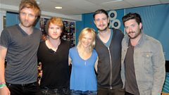 Kodaline catch up with Jo Whiley