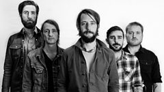 Band of Horses join Zoe Ball in session