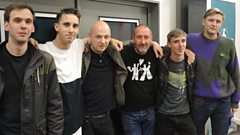 Outfit join Marc Riley in the studio
