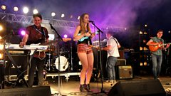 Izzy Marie Hill  - Chuck Norris at Glastonbury 2013
