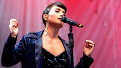 Jessie Ware - If You're Never Gonna Move at Glastonbury 2013