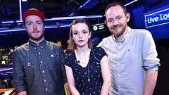 CHVRCHES speak to Phil Taggart