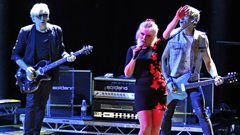 Blondie chat to Mark Radcliffe