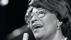 Ella Fitzgerald is inducted into Michael Ball's Singers Hall of Fame