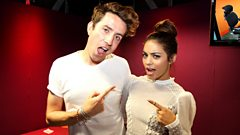 Vanessa Hudgens on the Radio 1 Breakfast Show