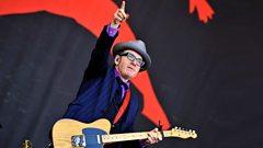 Elvis Costello - Glastonbury highlights