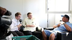 Charlie Sloth catches up with Disclosure backstage