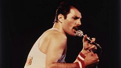 Freddie Mercury is inducted into the Singers Hall of Fame