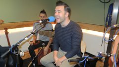 Shane Filan performs live for Sir Terry Wogan