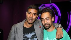 Pinju joins Nihal in the studio
