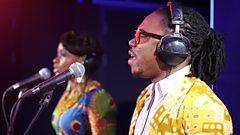 Atumpan - The Thing in the Live Lounge for Trevor Nelson