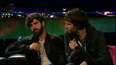 Interview with Foals