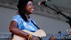Denai Moore - The Lake at Reading Festival 2013