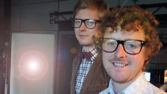 Public Service Broadcasting chat to Janice