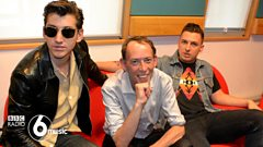 Arctic Monkeys catch up with Steve Lamacq