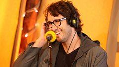 Josh Groban backstage at Radio 2 Live in Hyde Park
