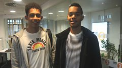 Rizzle Kicks chat to Steve Wright