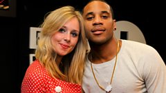 Diana Vickers and Reggie play the Vickers' Knickers game!