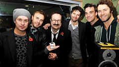 Take That co-host with Steve Wright!