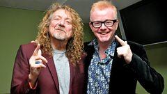 Robert Plant joins Chris Evans on the Breakfast Show!