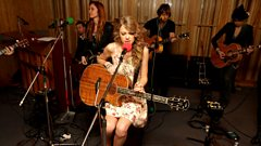 Interview: Taylor Swift in the Live Lounge
