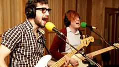 Interview: Two Door Cinema Club in the Live Lounge