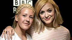 Ellie Goulding joins Fearne in the studio