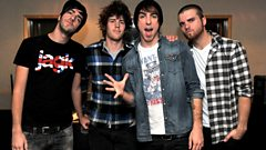Interview: All Time Low in the Live Lounge