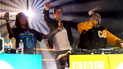 Chipmunk and friends perform at the 1Xtra Soundclash