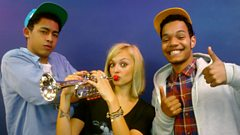 Rizzle Kicks with Fearne Cotton