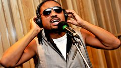 Machel Montano in the Live Lounge