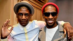 Labrinth & Tinie Tempah Live Lounge (INTERVIEW ONLY)