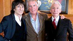 Ronnie Wood & Charlie Watts - Interview with Johnnie Walker