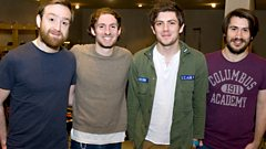 Twin Atlantic - Interview with Fearne Cotton