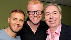 Gary Barlow and Andrew Lloyd Webber - Interview with Chris Evans