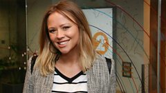 Kimberley Walsh chats to Steve Wright
