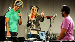 SBTRKT chats to Lauren Laverne