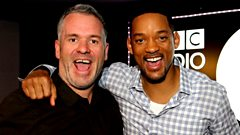 The Chris Moyles Show - Will Smith talks aliens