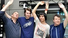 The Cribs - Interview with Radcliffe and Maconie