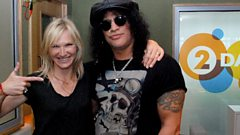 Slash in conversation with Jo Whiley