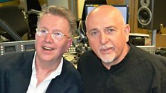 Peter Gabriel in conversation with Tom Robinson