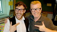 Will Young joins Chris Evans for Breakfast