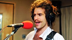 King Charles chats to Huw Stephens