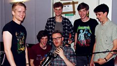 Peace chat to Huw Stephens