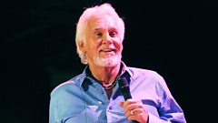 Kenny Rogers in conversation with Aled Jones