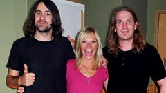 The Vaccines' Justin and Arni chat to Jo Whiley