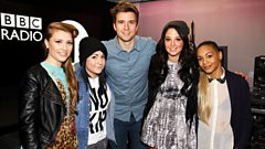 Tulisa and the Girls join Greg James in the studio!