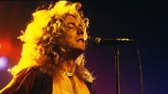 Robert Plant chats to Brian Johnson